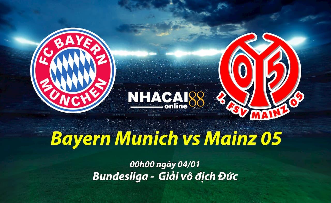 soi-keo-Bayern-Munich-vs-Mainz-05-giai-Bundesliga