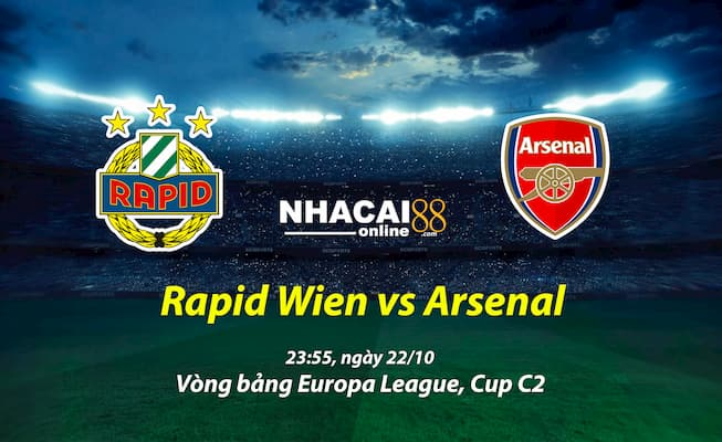 Rapid-Wien-vs-Arsenal-Cup-C2
