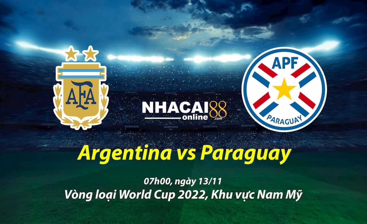 soi-keo-Argentina -vs-Paraguay-vong-loai-World-Cup-khu-vuc-Nam-My